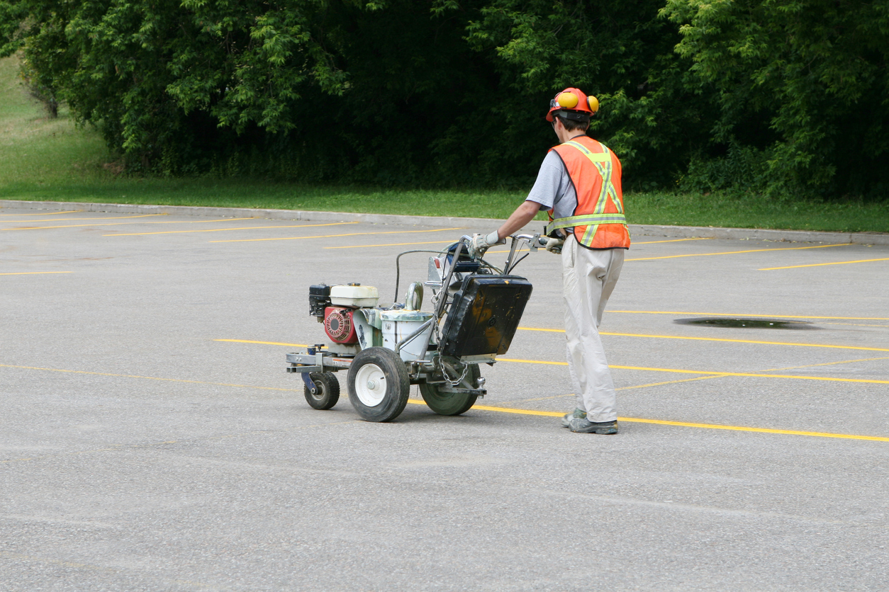 Parking Lot Striping Painting Costs