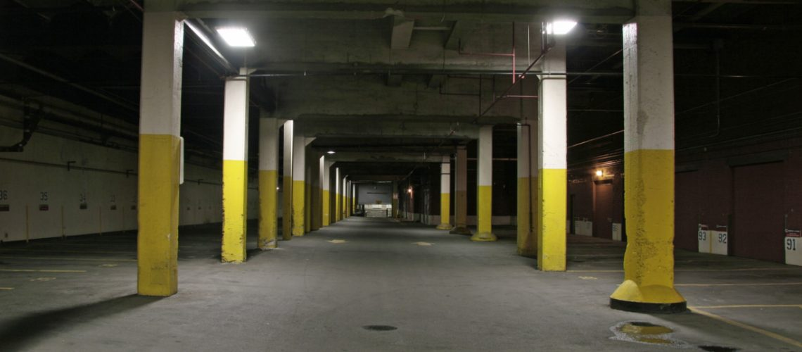 Parkade Cleaning